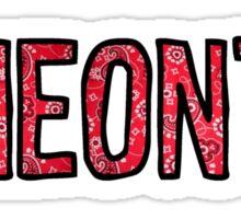 Oneonta Bandana Sticker