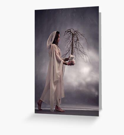 Tree of Life. Greeting Card