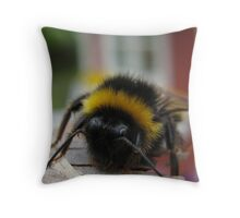 Swedish Bumblebee - Ystad, Sweden Throw Pillow