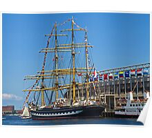 Tall Ships in Boston Poster