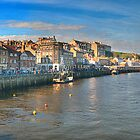 Whitby Harbour by Kelvin Hughes