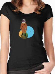 a planet that ... Women's Fitted Scoop T-Shirt