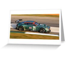 Aston Martin DBR9 Greeting Card