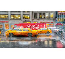 Cosk & Cabs Photographic Print
