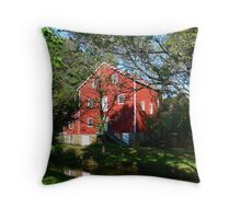 Wallace-Cross Mill_1 Throw Pillow