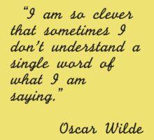 Oscar Wilde quotes Kids Tee