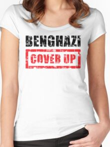 Benghazi Cover Up Women's Fitted Scoop T-Shirt