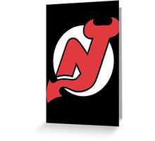 Devils Greeting Card