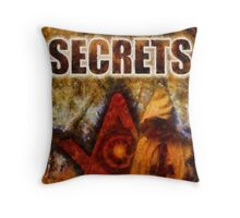 Secrets by Pierre Blanchard Throw Pillow
