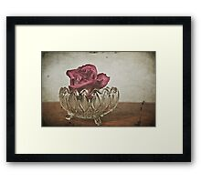 Love Me For A Reason Framed Print
