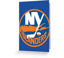 Islanders Greeting Card