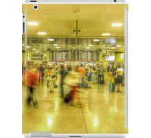 Rush hour at Penn Station New York, NY iPad Case/Skin