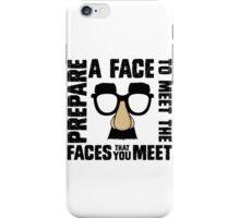 Prepare A Face iPhone Case/Skin