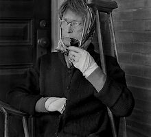 Woman with Pipe by pmreed