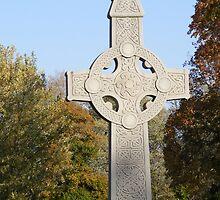 Autumn Celtic Cross by Marie Sharp