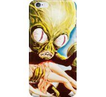 Invasion of the Saucer Men Vintage iPhone Case/Skin