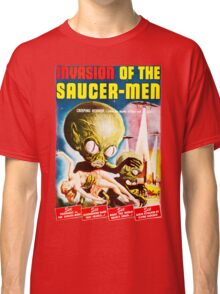 Invasion of the Saucer Men Vintage Classic T-Shirt