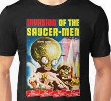 Invasion of the Saucer Men Vintage Unisex T-Shirt