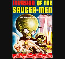 Invasion of the Saucer Men Vintage Unisex T-Shirt