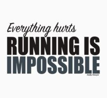 Running is Impossible - Andy Dwyer by livia4liv