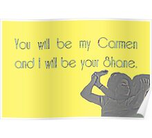 Shane & Carmen - Love - The L Word Poster