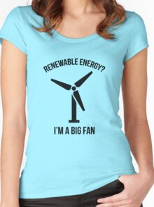 Renewable Energy Women's Fitted Scoop T-Shirt