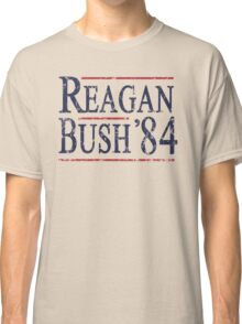 Retro Reagan Bush '84 Election Classic T-Shirt