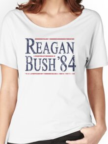 Retro Reagan Bush '84 Election Women's Relaxed Fit T-Shirt
