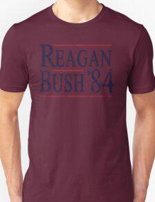 Retro Reagan Bush '84 Election Unisex T-Shirt
