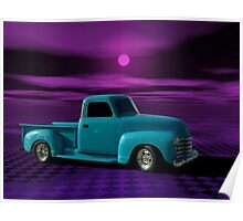 1950 Chevrolet Pickup Truck Poster