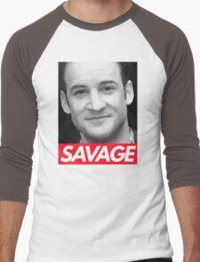 Stay Savage Men's Baseball ¾ T-Shirt