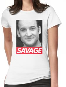 Stay Savage Womens Fitted T-Shirt