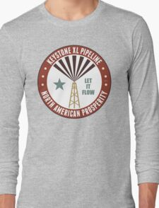 Keystone XL Pipeline Long Sleeve T-Shirt