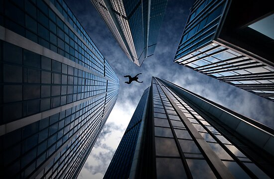 Base jump by Laurent Hunziker