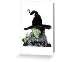 Wicked North Witch ME Greeting Card