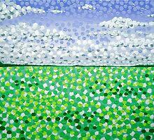 Sophia's Landscape by Alan Hogan