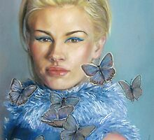 Chelsea  with butterflies by Sorina Williams