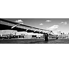 St Pauls & Millennium Bridge Photographic Print