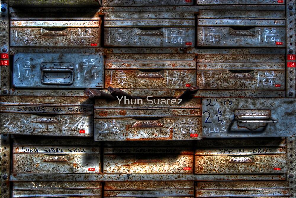 Metal Drawer by Yhun Suarez