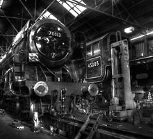 Great Central Railway Workshop by Yhun Suarez