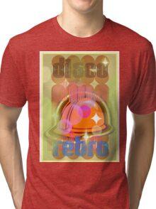 Disco Retro Tri-blend T-Shirt