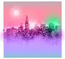chicago city skyline 7 by BekimART
