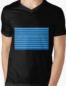 Swimming Mens V-Neck T-Shirt