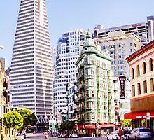 The Transamerica Pyramid, San Francisco, USA by maventalk