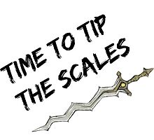 Time to tip the scales! (strong) by hyrulemarket