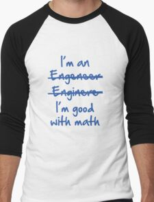 I'm Good With Math Men's Baseball ¾ T-Shirt
