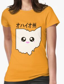 Kawaii Ohio - オハイオ州 Womens Fitted T-Shirt