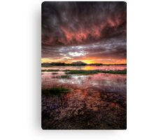 Between Sky and Water Canvas Print