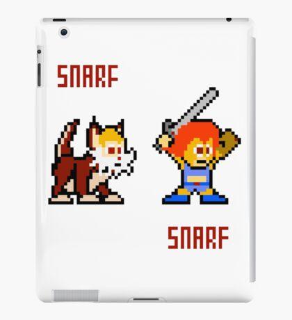 Thundercats 8bit Lion-O and Snarf iPad Case/Skin