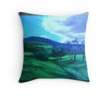 Landscape commission Throw Pillow